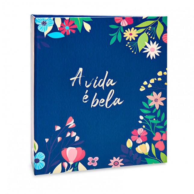 Álbum para 40 fotos 15x21cm - Floral 322