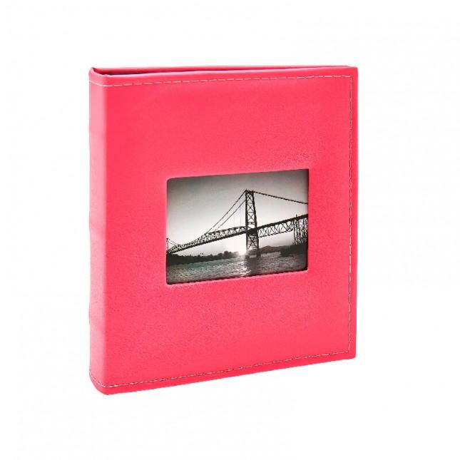 Álbum para 400 fotos 11,4x15cm - Prestige com Janela 403 - Ampliável