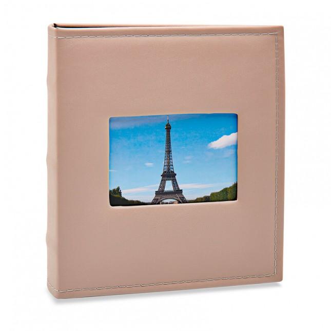 Álbum para 200 fotos 11,4x15cm - Prestige com Janela 410 - Ampliável