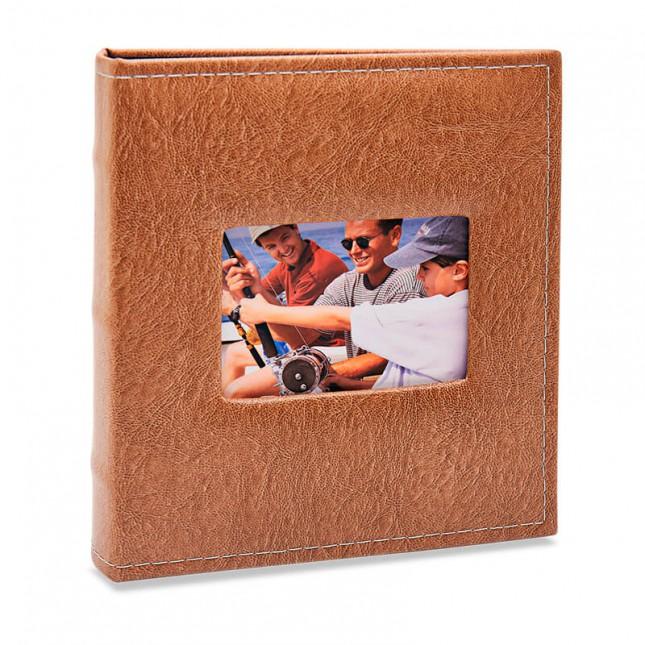 Álbum para 100 fotos 15x21cm - Prestige com Janela 481 - Ampliável