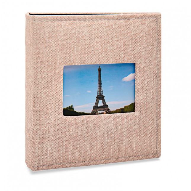 Álbum para 200 fotos 11,4x15cm - Prestige com Janela 484 - Ampliável