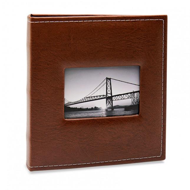 Álbum para 400 fotos 10x15cm - Prestige com Janela 509 - Ampliável