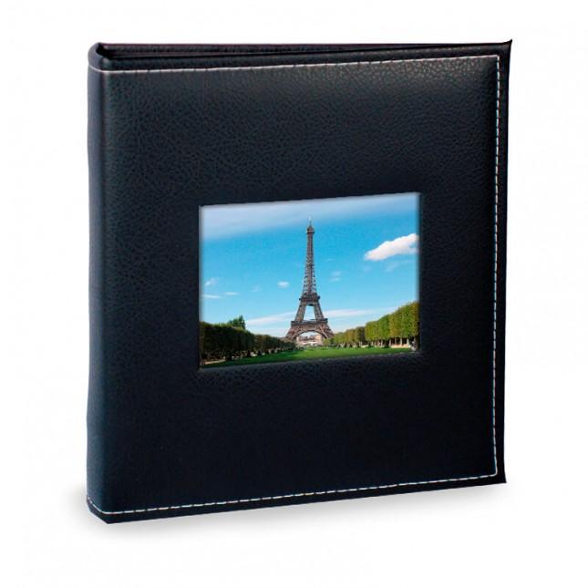 Álbum para 200 fotos 13x18cm - Prestige com Janela 510 - Ampliável