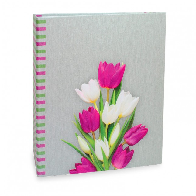 Álbum para 40 fotos 15x21cm - Floral 566