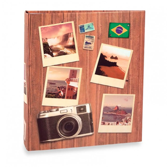 Álbum para 40 fotos 15x21cm - Viagem 586