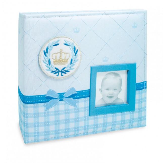 Álbum para 100 fotos 15x21cm - Bebê com Diário 810 - Ampliável