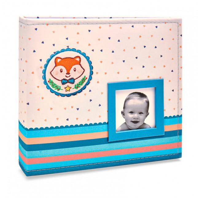 Álbum para 150 fotos ( 100 10x15cm + 50 15x21cm ) - Bebê com Diário 820 - Ampliável