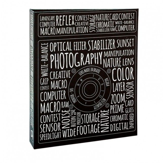 Álbum para 80 fotos 15x21cm - Photo Lovers 907