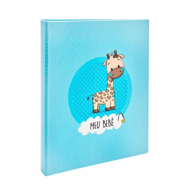 Álbum para 120 fotos 10x15cm - Bebê com Diário 09 - Ampliável