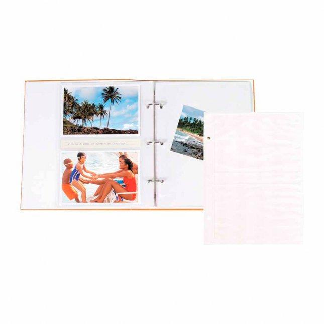 Refil para Álbum R4 - Folha Branca 11,4x15cm