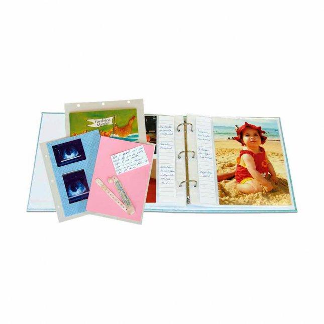 Refil para Álbum R5 - Folha Branca 13x18cm