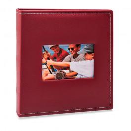 Imagem - Álbum para 200 fotos 11,4x15cm - Prestige com Janela 482 - Ampliável
