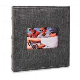 Imagem - Álbum para 200 fotos 11,4x15cm - Prestige com Janela 485 - Ampliável