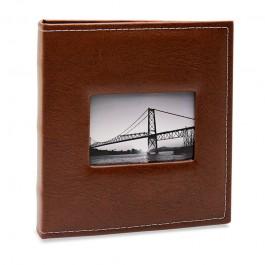 Imagem - Álbum para 400 fotos 11,4x15cm - Prestige com Janela 509 - Ampliável