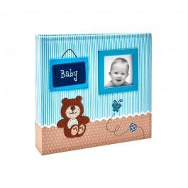 Imagem - Álbum para 150 fotos ( 100 10x15cm + 50 15x21cm ) - Bebê com Diário 800 - Ampliável