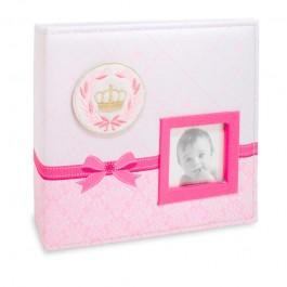 Imagem - Álbum para 150 fotos ( 100 10x15cm + 50 15x21cm ) - Bebê com Diário 809 - Ampliável