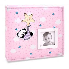 Imagem - Álbum para 150 fotos ( 100 10x15cm + 50 15x21cm ) - Bebê com Diário 817 - Ampliável