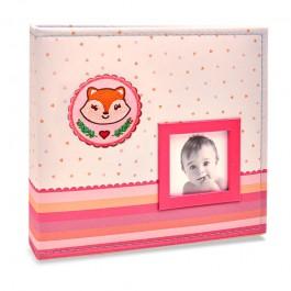 Imagem - Álbum para 150 fotos ( 100 10x15cm + 50 15x21cm ) - Bebê com Diário 819 - Ampliável