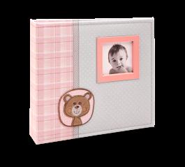 Imagem - Álbum para 150 fotos ( 100 10x15cm + 50 15x21cm ) - Bebê com Diário 861 - Ampliável