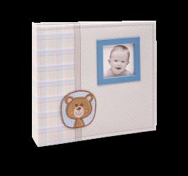 Imagem - Álbum para 150 fotos ( 100 10x15cm + 50 15x21cm ) - Bebê com Diário 862 - Ampliável