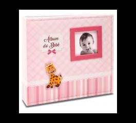 Imagem - Álbum para 150 fotos ( 100 10x15cm + 50 15x21cm ) - Bebê com Diário 863 - Ampliável