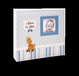Imagem - Álbum para 150 fotos ( 100 10x15cm + 50 15x21cm ) - Bebê com Diário 864 - Ampliável