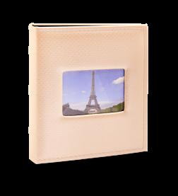 Imagem - Álbum para 200 fotos 11,4x15cm - Prestige com Janela 414 - Ampliável