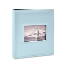 Imagem - Álbum para 400 fotos 11,4x15cm - Prestige com Janela 412 - Ampliável