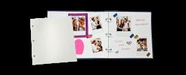 Imagem - Refil para Álbum Scrap R36 - Folha Branca 18,5x21,5cm