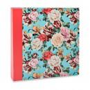 Álbum para 400 fotos 10x15cm - Floral 564 - Ampliável
