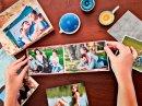 Álbum para 20 fotos 20x20cm - Autocolante 759 - Instalivro Tex Quadrado 2