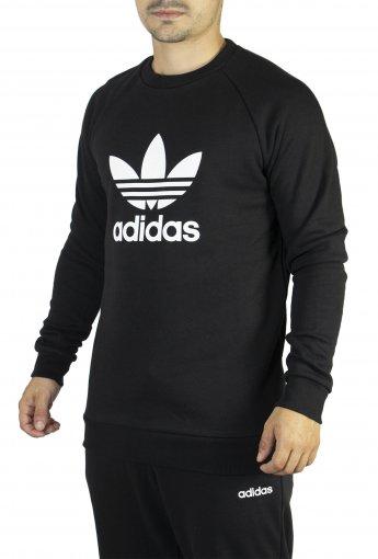 Blusão Moletom Adidas Warm-up Crew Trefoil Masculino