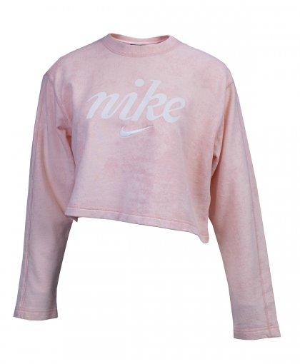 Blusão Moletom Nike  Nsw Crew Crop Wsh Feminino