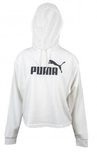 Blusão Cropped Moletom Puma Essentials+Hoody Feminino