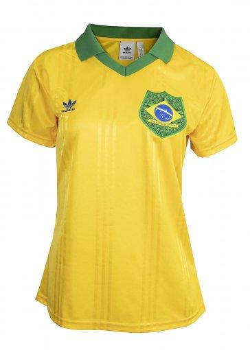 Camiseta Adidas Brasil Fan Feminina