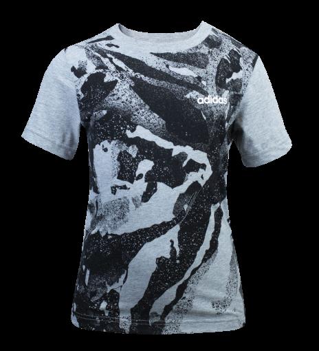 Camiseta Juvenil Adidas Yb E Aop Pr Tee