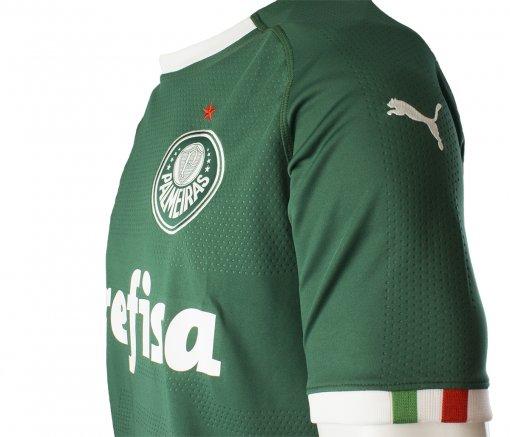 1005feabad264 Camiseta Masculina Puma Palmeiras 1 - Imagem 4
