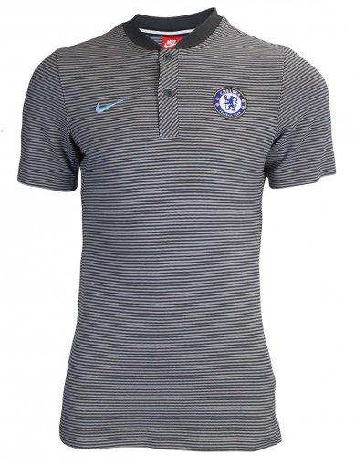 Camiseta Polo Piquet Nike Chelsea Masculina