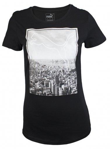 Camiseta Puma Graphic Photoprint Feminina