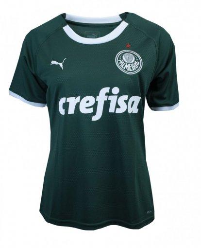 Camiseta Puma Palmeiras 1 Feminina