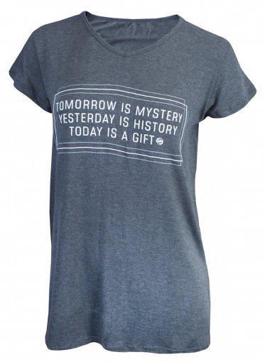 Camiseta Rola Moça Longline Feminina