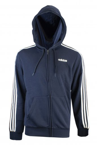 Jaqueta Moletom Adidas Essentials 3-Stripes Masculina
