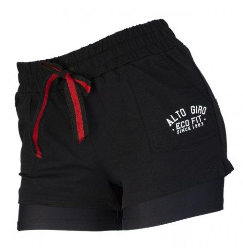 Shorts Alto Giro Suplex Evolution Eco Feminino