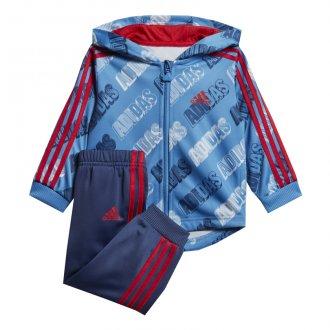 Imagem - Agasalho Adidas Malha Jogger Shiny Infantil cód: 055791