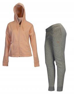 Imagem - Agasalho Moletom Puma Clean Sweat Suit Cl Feminino cód: 050813