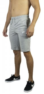 Imagem - Bermuda Moletom Nike Nsw Club Jersey Masculina cód: 038372