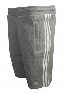 Imagem - Bermuda Moletom Adidas 3 Stripes Masculina cód: 053695