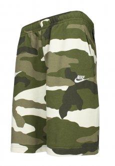 Imagem - Bermuda Moletom Nike Club Short Ft Camo Masculina cód: 056849