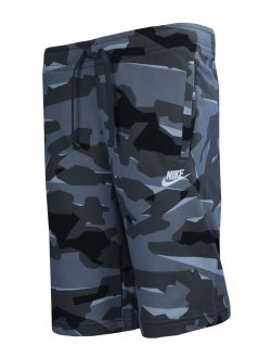 Imagem - Bermuda Moletom Nike Nsw Club Camo Short Ft Masculina cód: 051138