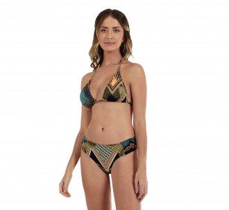 Imagem - Biquini New Beach Poliamida Cortina Longo Cocar Feminino cód: 058217
